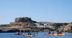 Rhodes Experiences sea kayak rhodes discover lindos full day 6