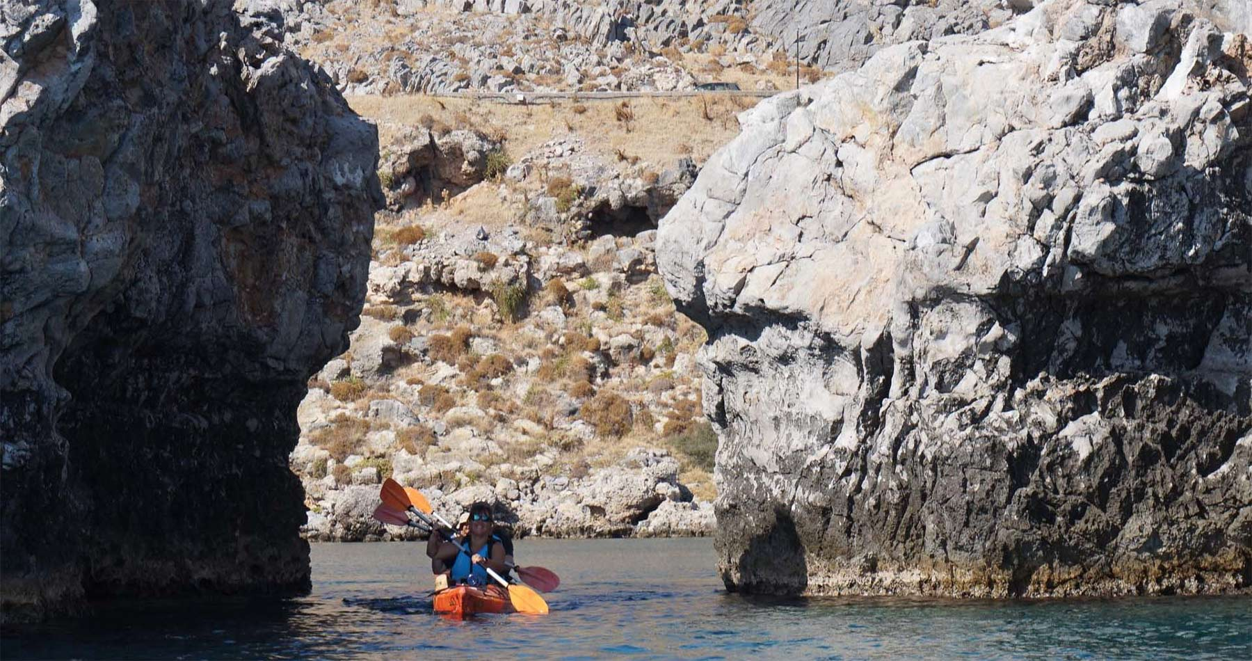 Rhodes Experiences sea kayak rhodes discover lindos full day 8