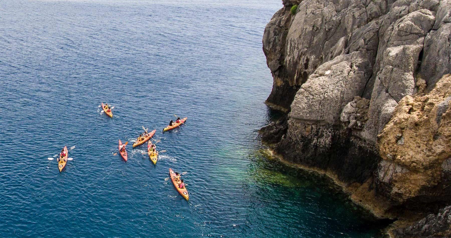 Rhodes Experiences sea kayaking tour the pirates route 10