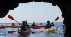 Rhodes Experiences sea kayaking tour the pirates route 17