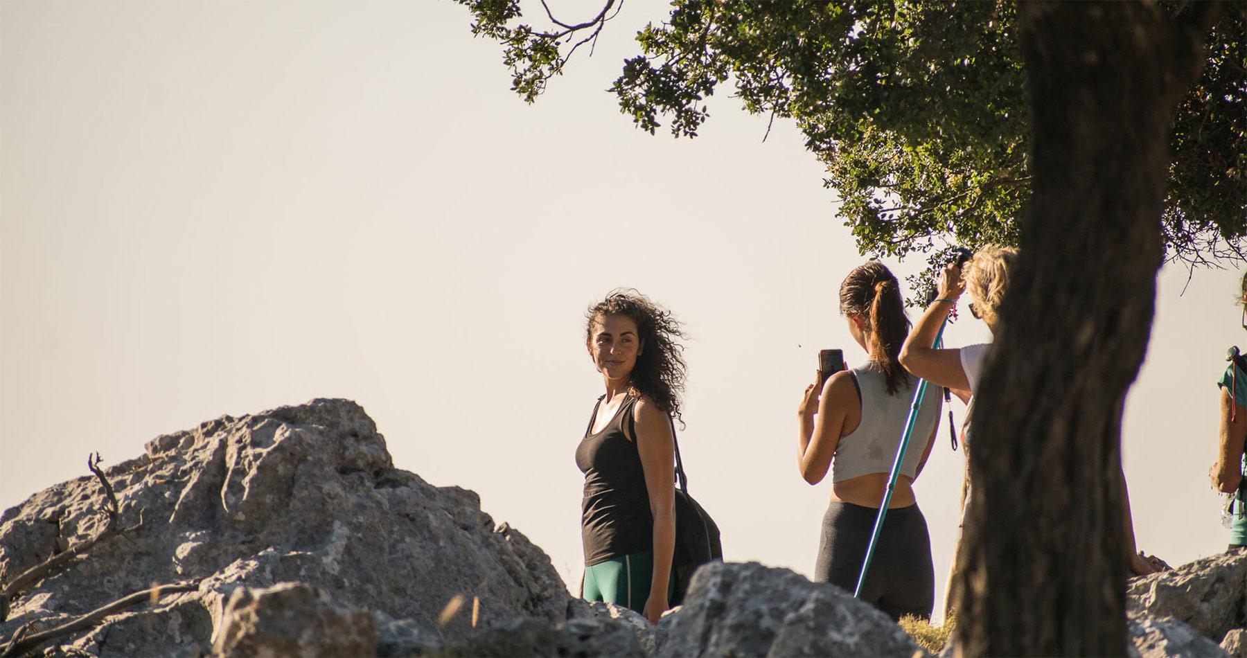 rhodes experiences amazing sunset hike profitis ilias 5