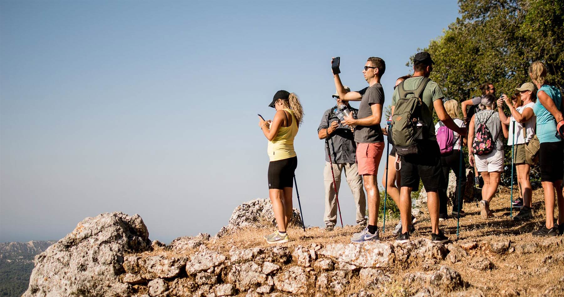 rhodes experiences amazing sunset hike profitis ilias 7