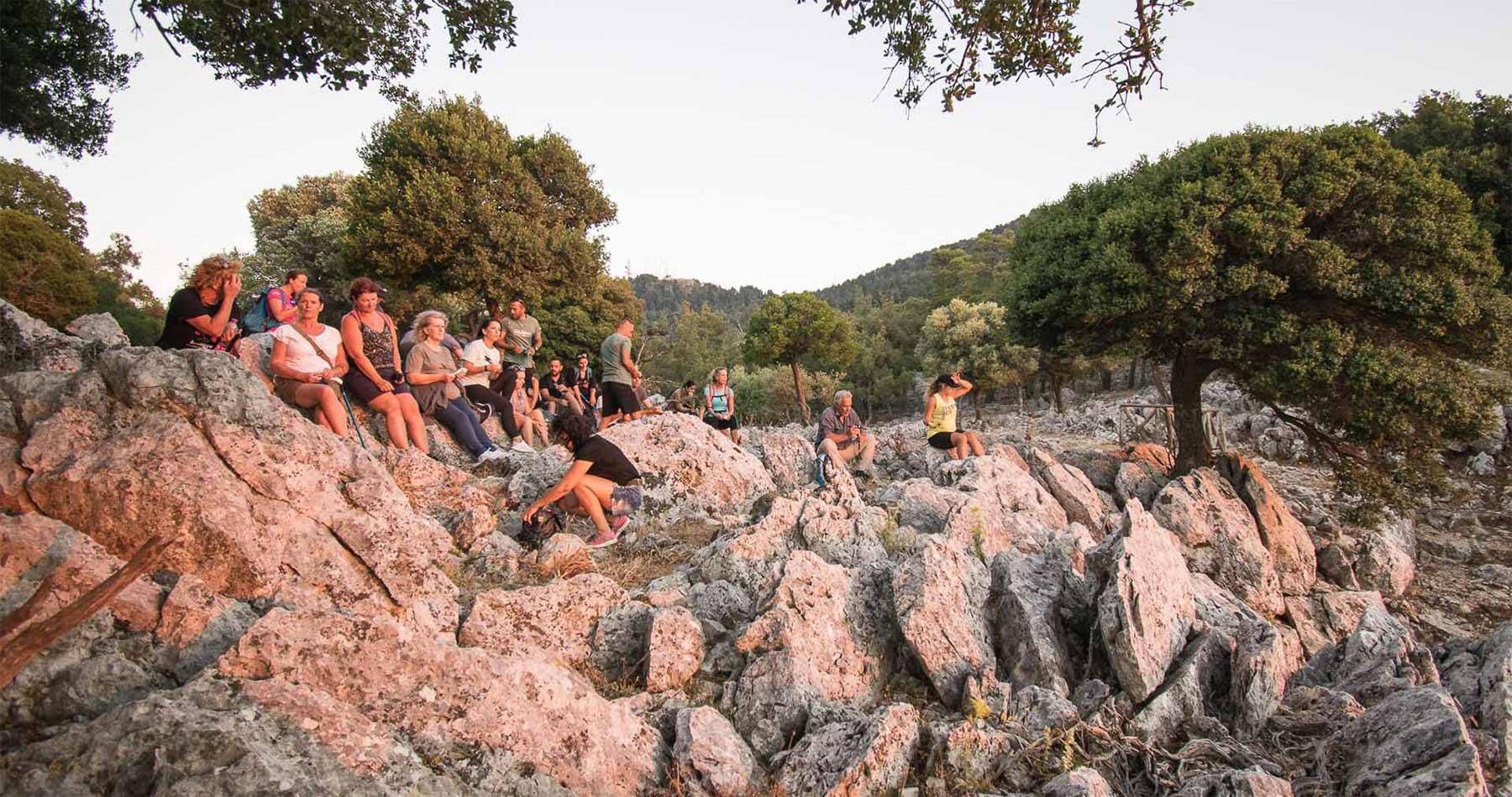 rhodes experiences amazing sunset hike profitis ilias 8
