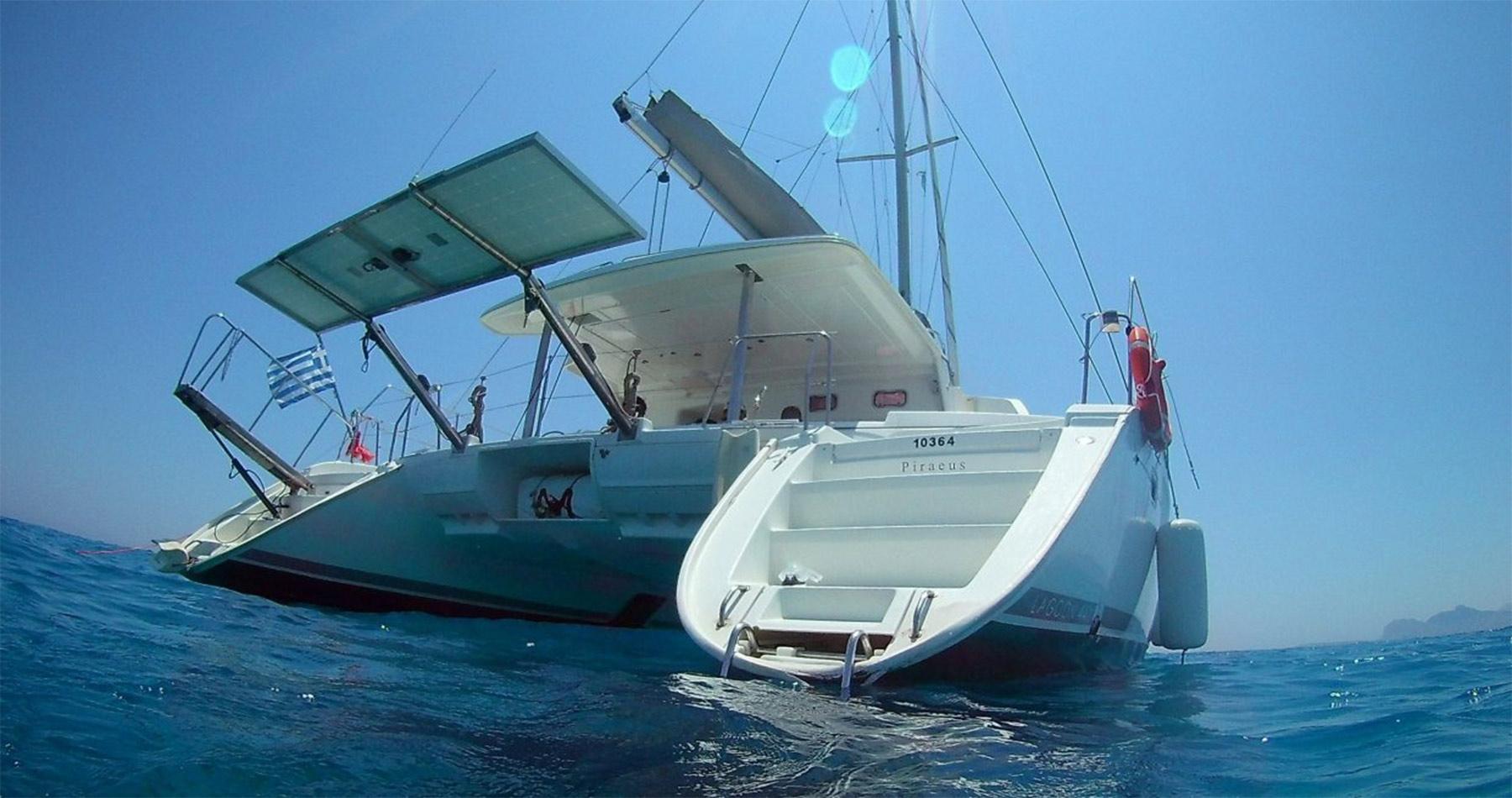 rhodes experiences catamaran 11