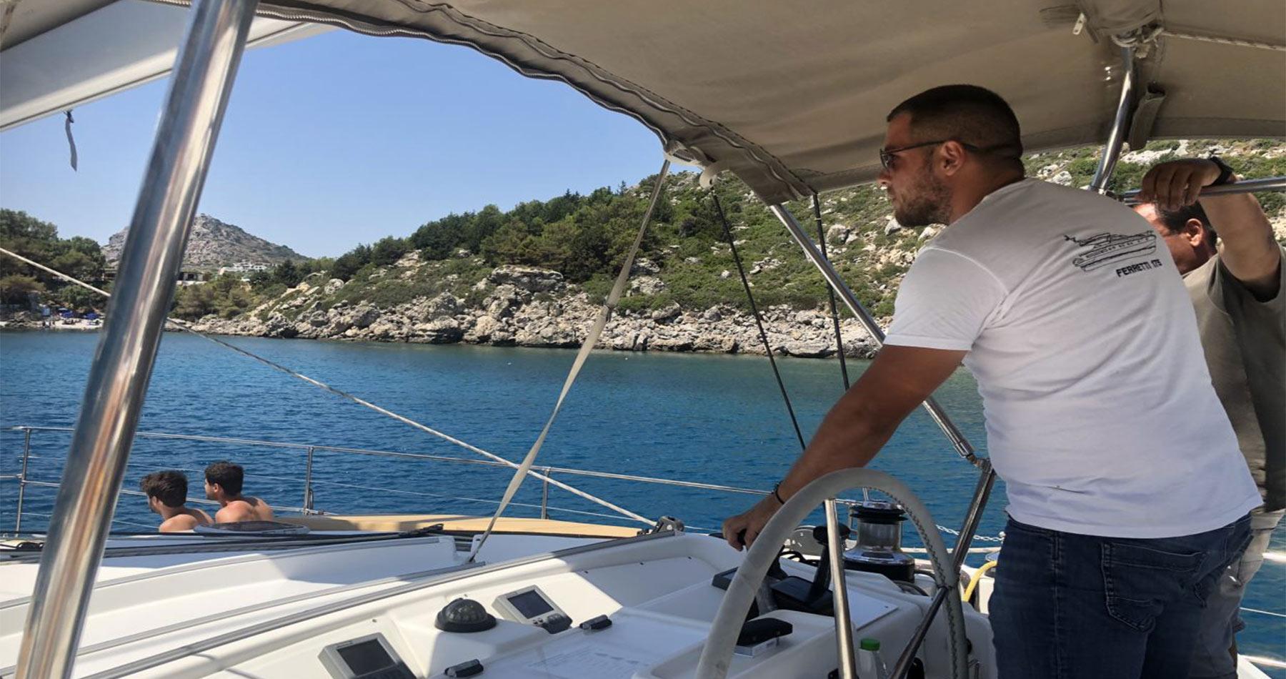rhodes experiences catamaran 12