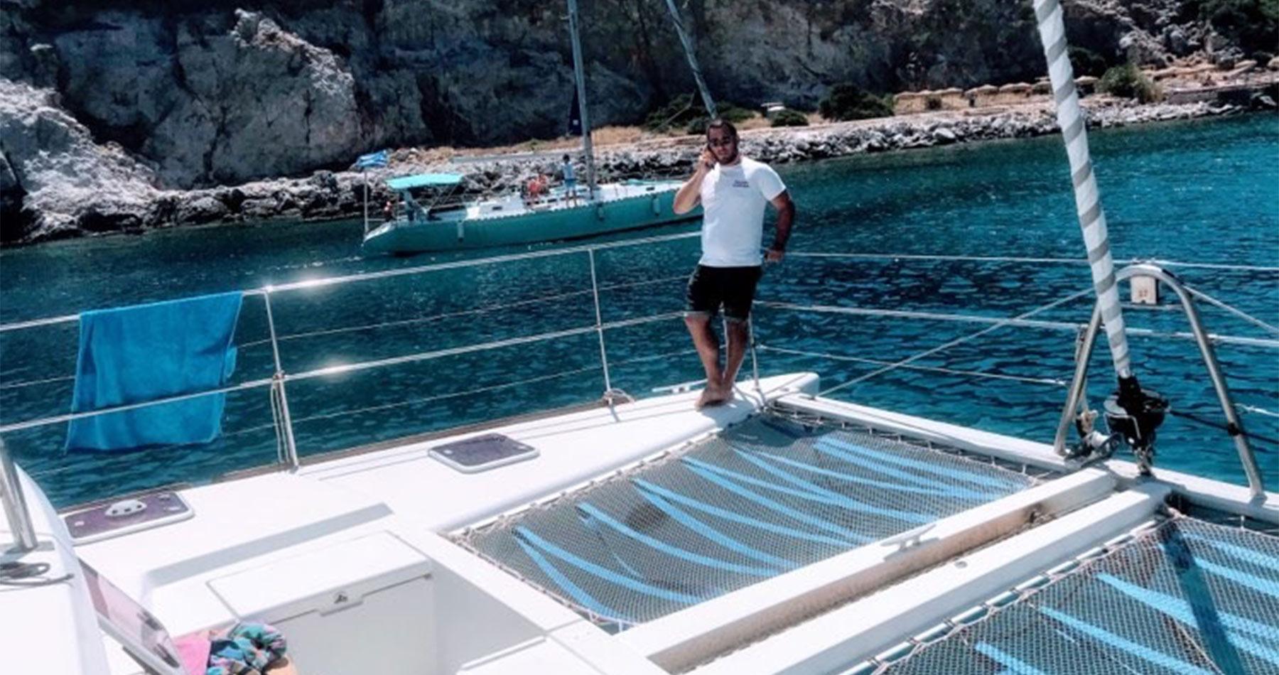 rhodes experiences catamaran 13