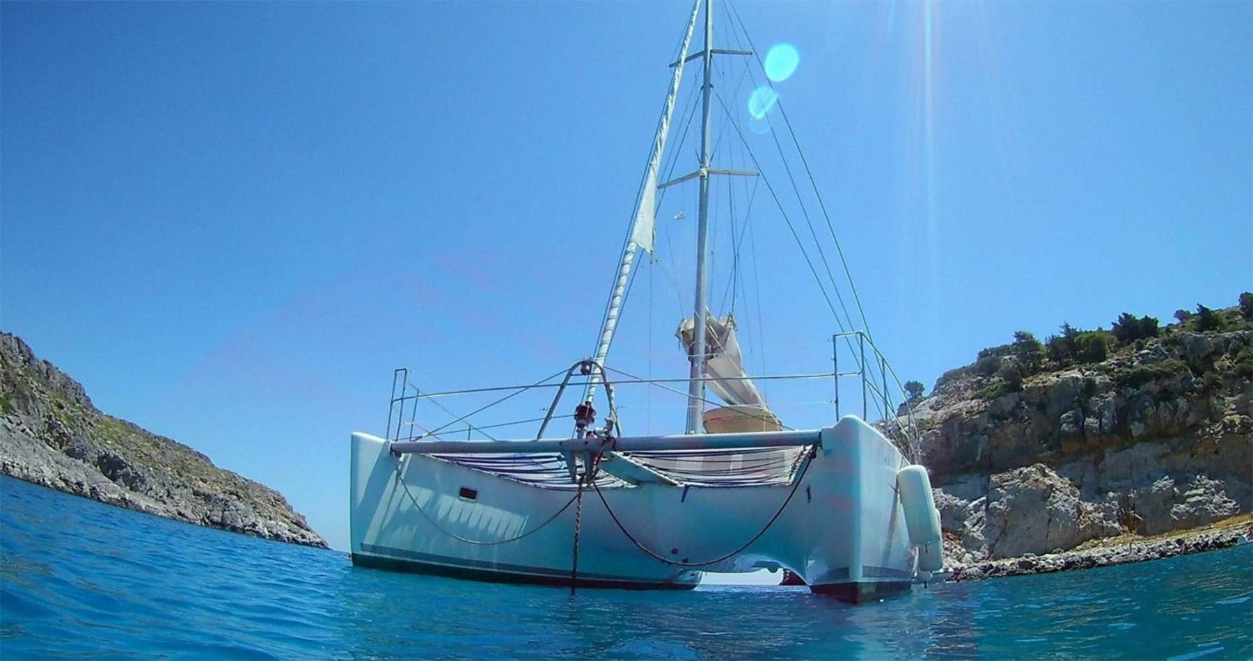 rhodes experiences catamaran 14