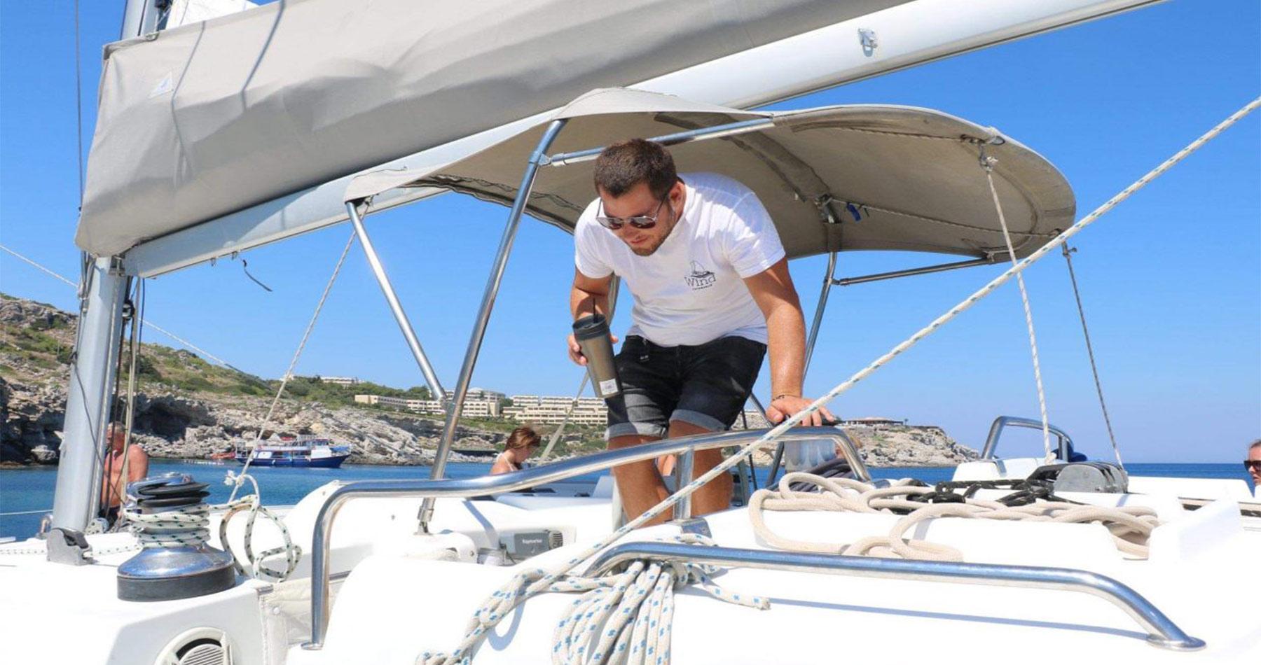 rhodes experiences catamaran 15
