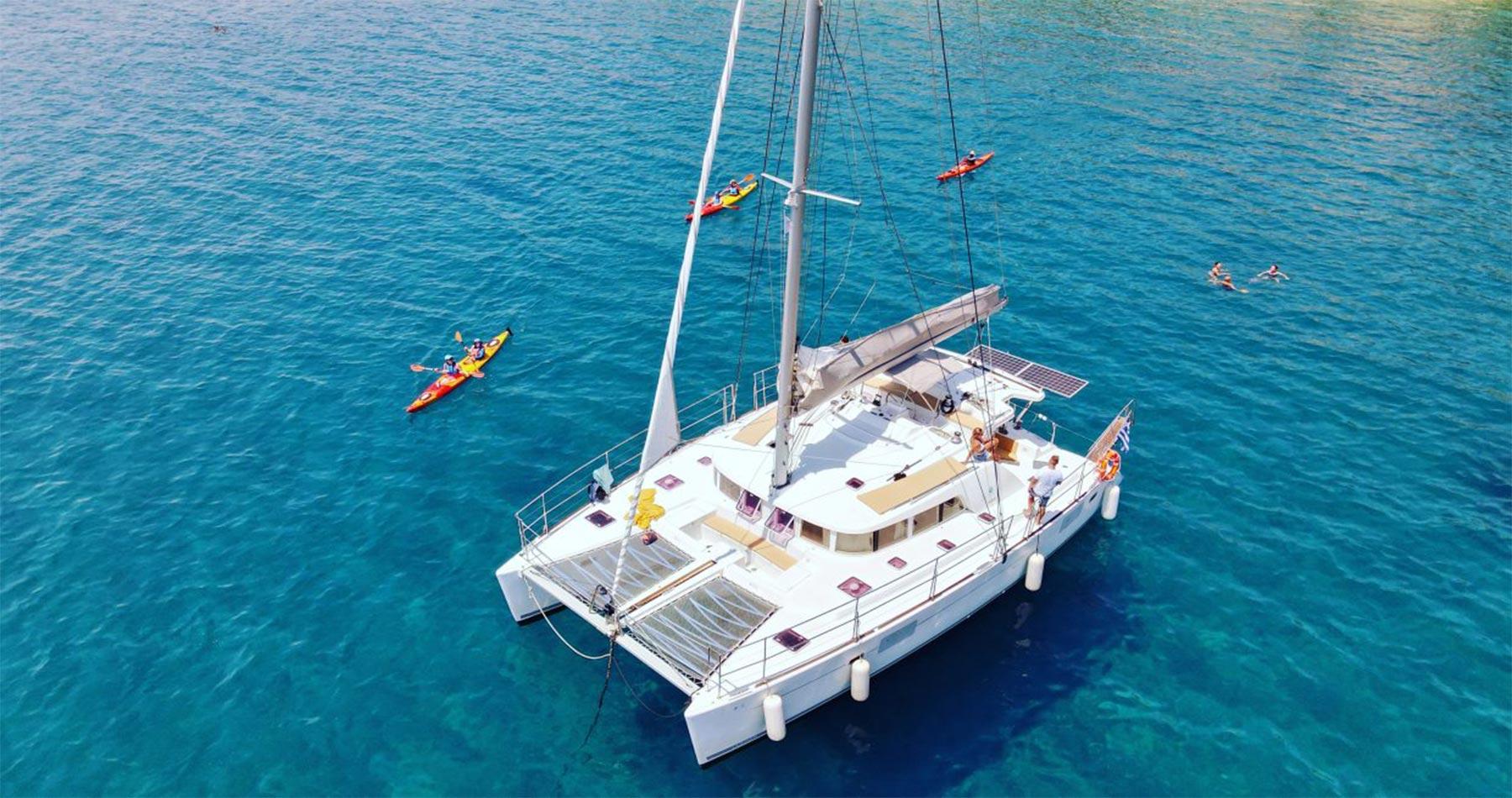 rhodes experiences catamaran 2