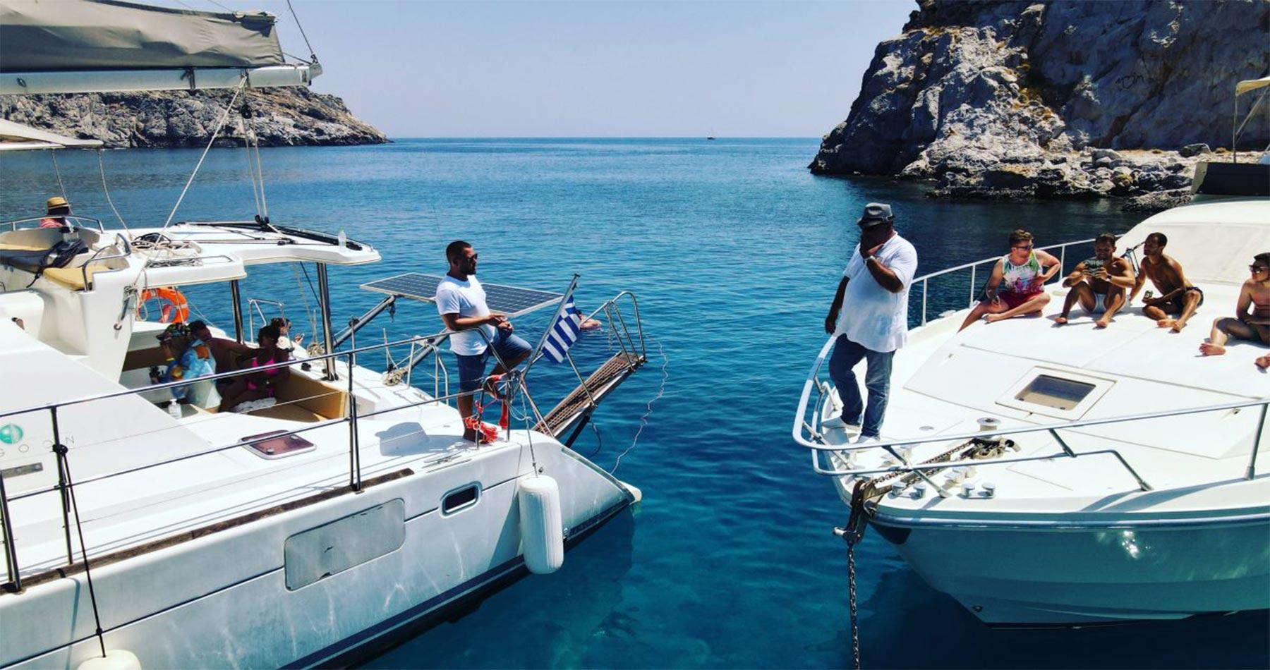 rhodes experiences catamaran 7