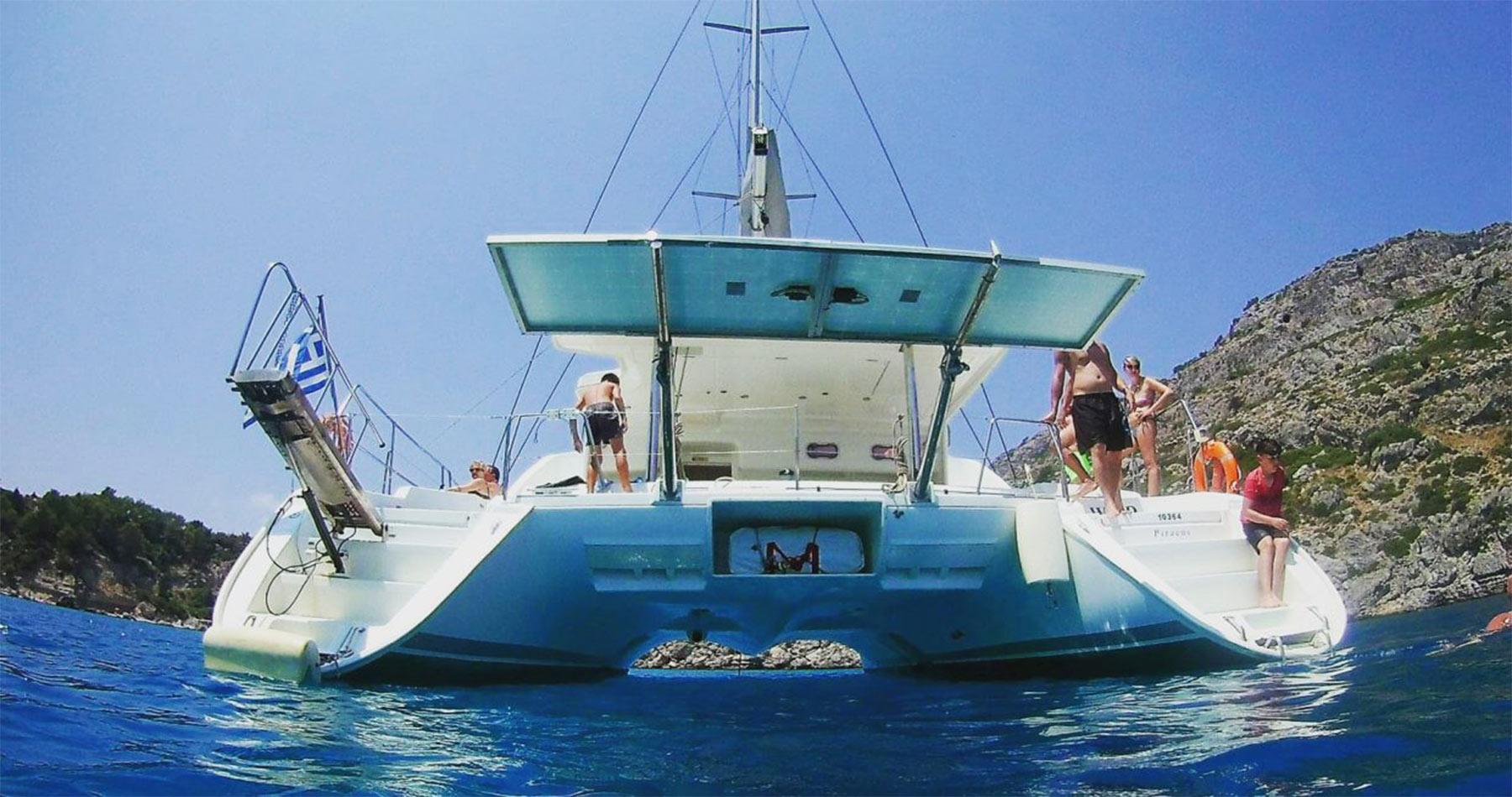rhodes experiences catamaran 8