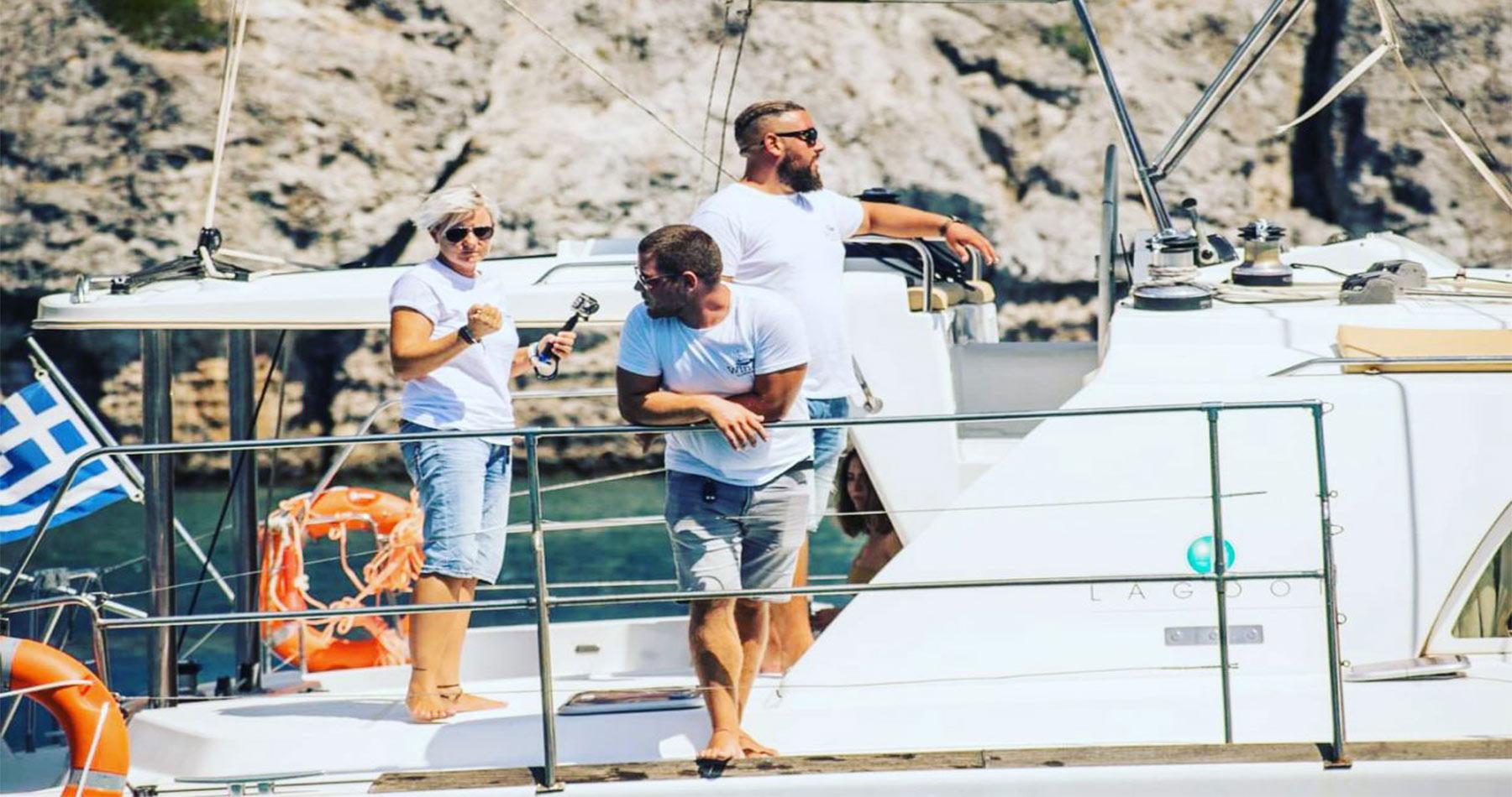rhodes experiences catamaran 9